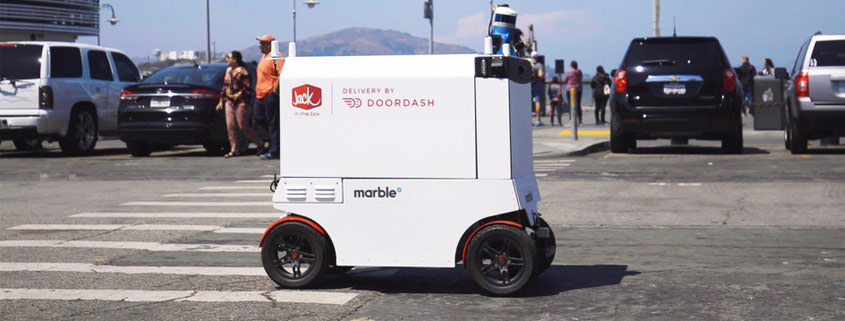 San Francisco: App schickt Roboter mit Mahlzeiten los
