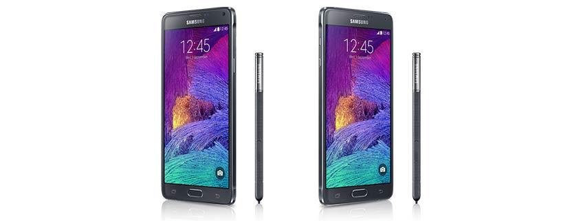 Samsung Galaxy Note S4 Rückruf