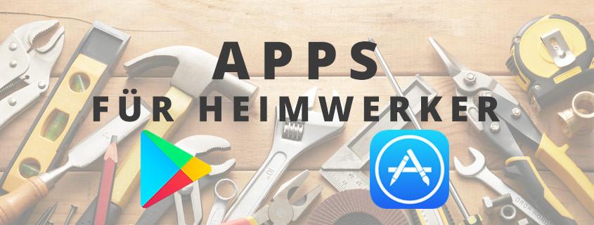 5 Apps für Heimwerker