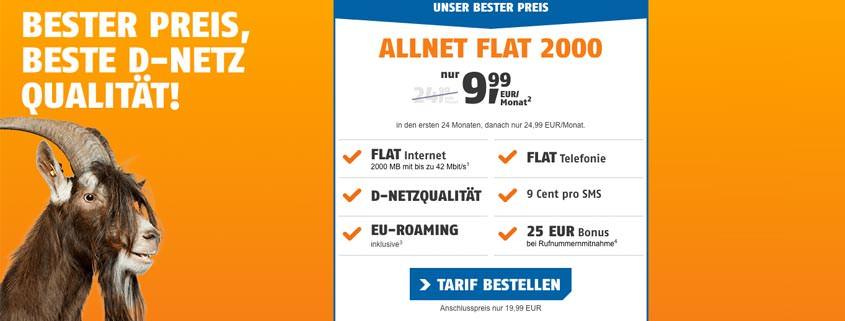 klarmobil Allnet Flat 2.000