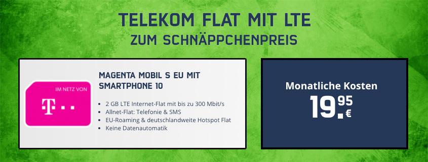 Telekom Magenta Mobil S zum Schnäppchenpreis