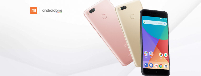 Xiaomi Mi A1 Smartphone mit Android-One Zertifizierung