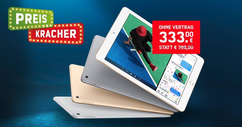 iPad 32 GB 2017 WLAN für nur 333 Euro