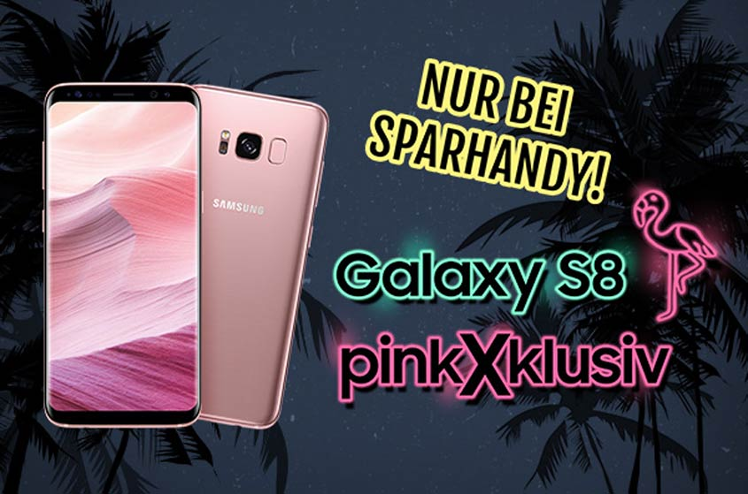 Samsung Galaxy S8 Rosé Pink