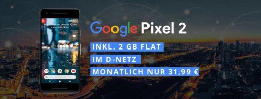Google Pixel 2 + Telekom Comfort Allnet (2 GB)