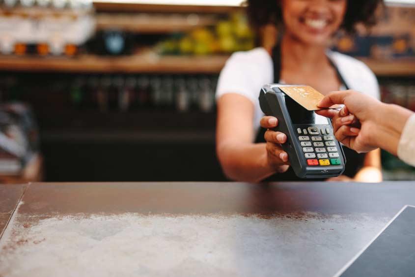 Kontaktloses Bezahlen via NFC