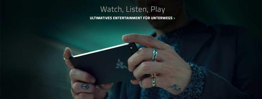 Razer: Smartphone für Gamer