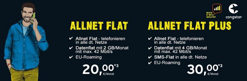 Infos zu den congstar Tarifen + Smartphone