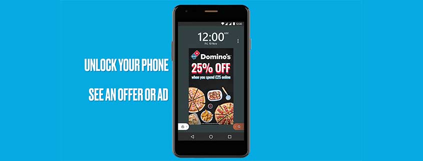 Wileyfox Smartphone mit Ads im Lockscreen