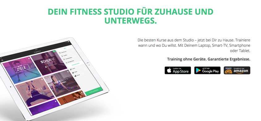 Gymondo: Dein Online-Fitness-Studio