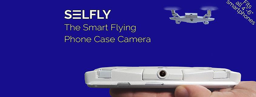 Selfly: Eine Mini-Drohne getarnt als Smartphonehülle