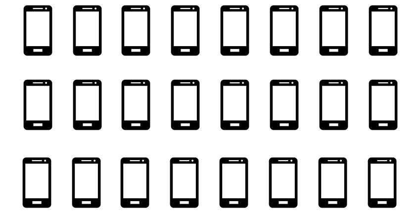 Millionen verkaufte Smartphones pro jahr