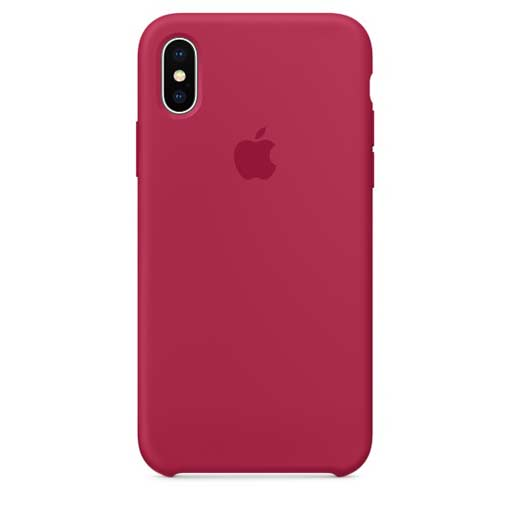 Apple iPhone X Hülle aus Silikon