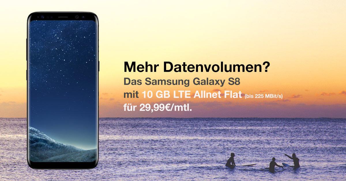 samsung galaxy s8 o2 free m 10 gb lte f r 29 99 mtl. Black Bedroom Furniture Sets. Home Design Ideas