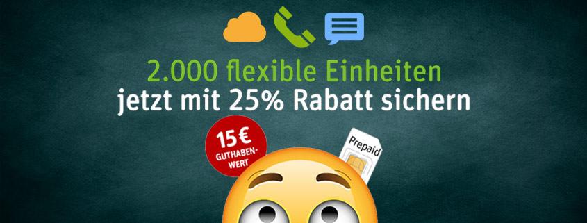 Immer kostenfrei whatsappen // auch ohne Guthaben! WhatsApp SIM Gutschein – 25% Rabatt sichern!