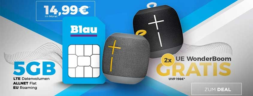 Blau Allnet XL + UE Wonderboom