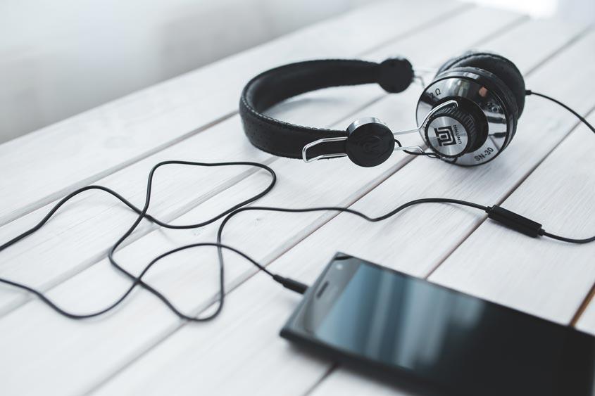 Smartphone Kopfhörer mit 3,5mm Klinkenanschluss
