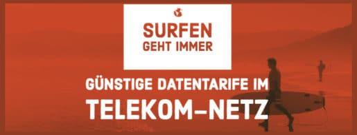Günstige Datentarife im Telekom-Netz
