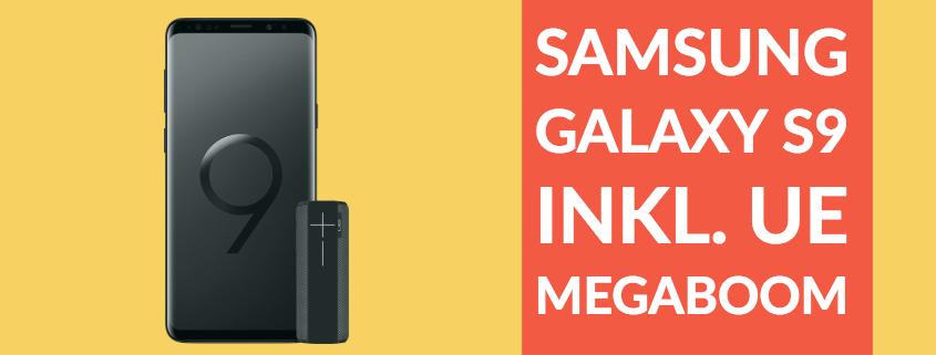 Galaxy S9 + UE Megaboom für nur 26,99 Euro