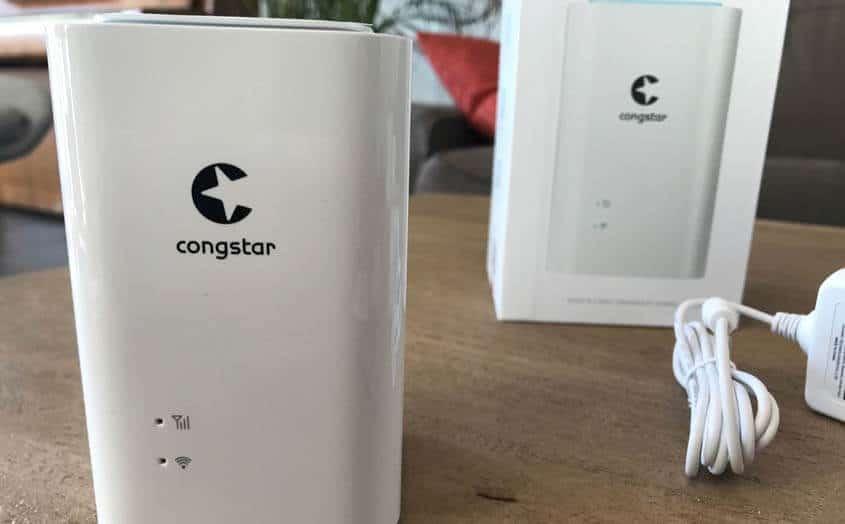 Mobiler Router für den congstar Homespot