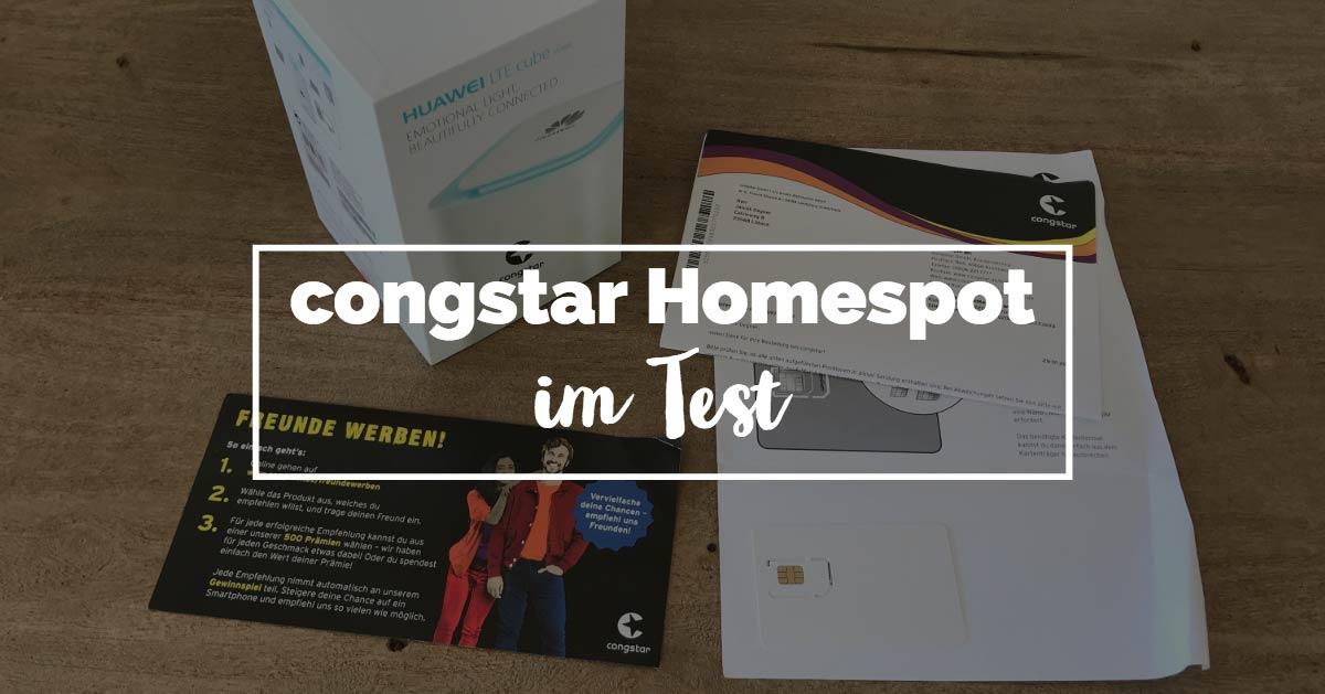 congstar homespot 2019 was kann der lte anschluss f r zuhause. Black Bedroom Furniture Sets. Home Design Ideas
