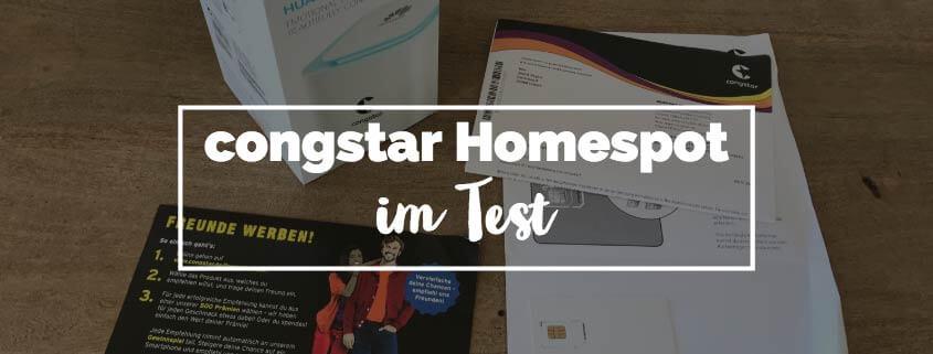 congstar Homespot Test & Erfahrungen