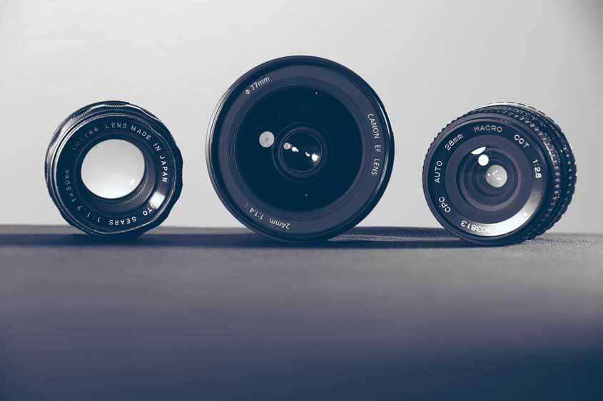 Aufsetzlinsen für die Handy-Kamera