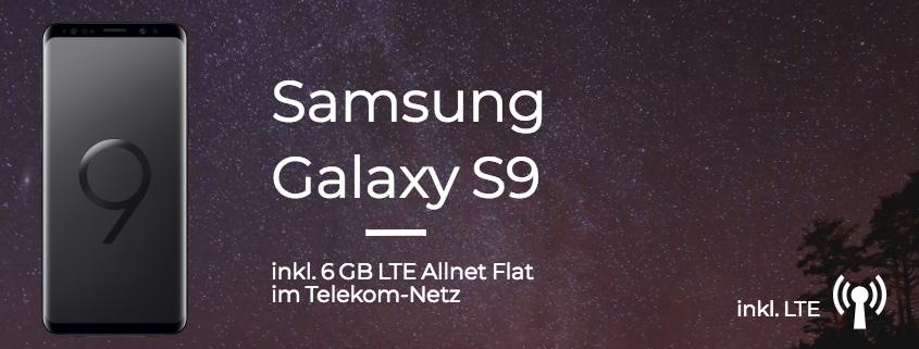 Samsung Galaxy S9 mit Vertrag