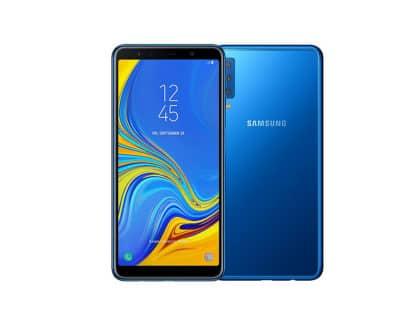 Samsung Galaxy A7 Blau