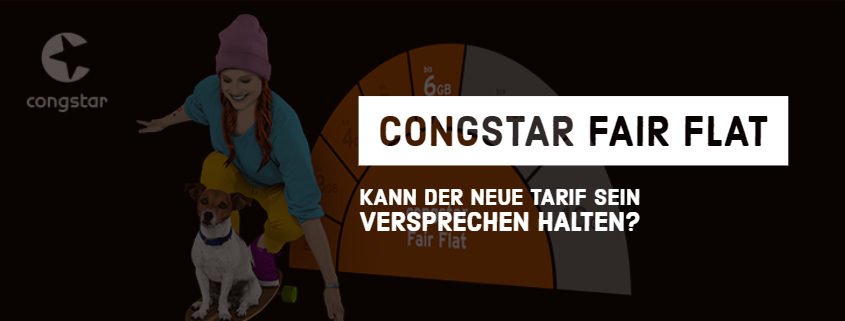 congstar Fair Flat im Test