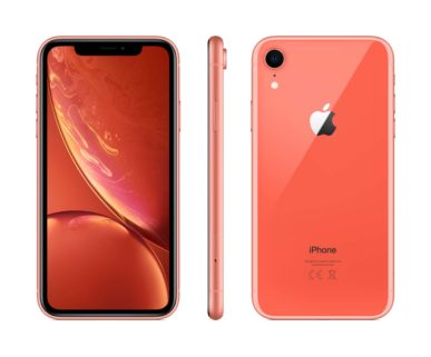 iPhone XR Coral mit o2 Free M