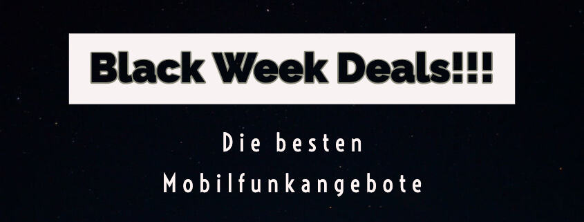 Die besten Black Week Deals