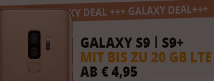 Sparhandy mit o2 Free M und Samsung Galaxy S9