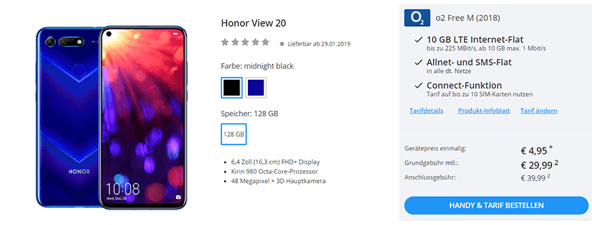 Sparhandy Honor View 20