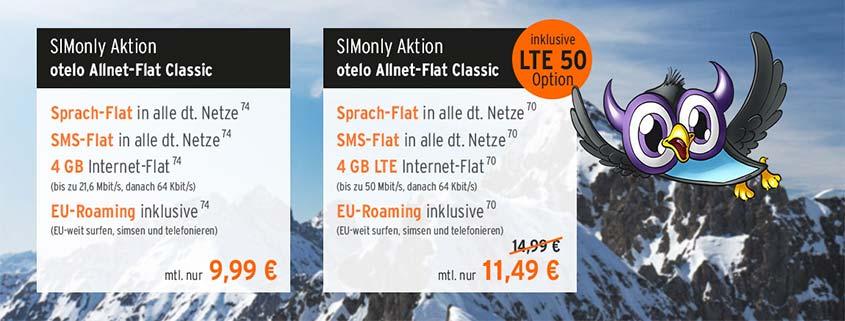 flymobile: LTE-Flat im D-Netz ab 11,49 €