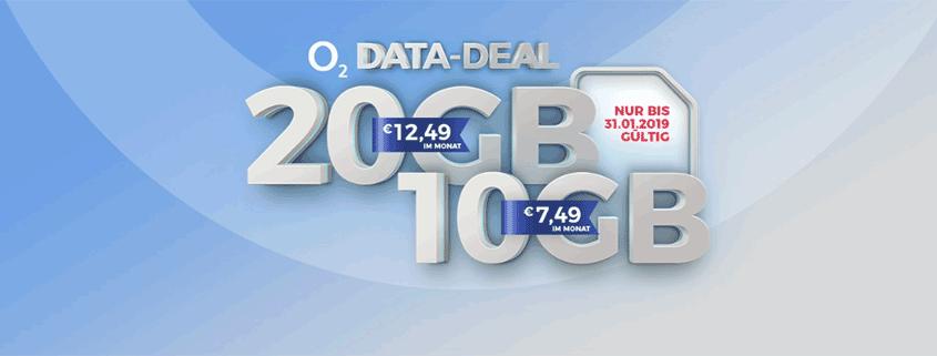 Handyflash o2 Deal - 10 GB für eff. 7,49 €/mtl.