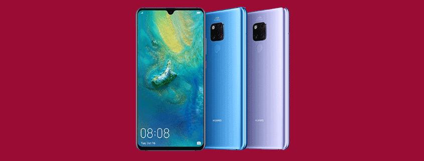 Huawei Mate 20 x . + Allnet Flat schon ab 26,99 €