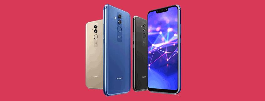 Huawei Mate 20 Lite + Blau Allnet L für 13,99 €/mtl.