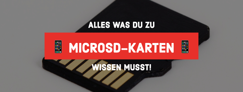 microSD-Karten Ratgeber