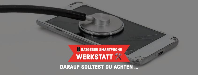 Smartphone Werkstatt finden