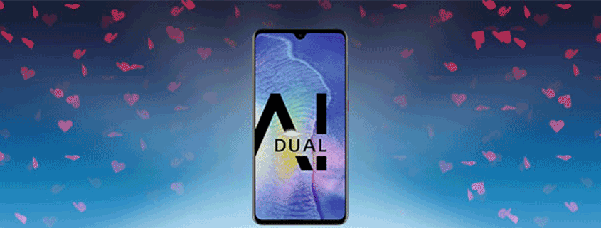 Huawei Mate 20 + 100 € Cashback und LTE Allnet Flat