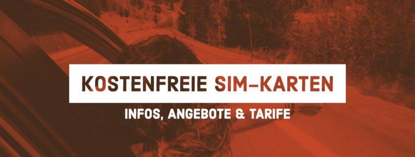 Gratis SIM-Karten: Der große Überblick über kostenfreie SIM-Karten