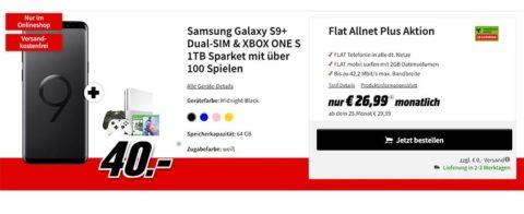 Galaxy S9 Plus + Xbox Sparket