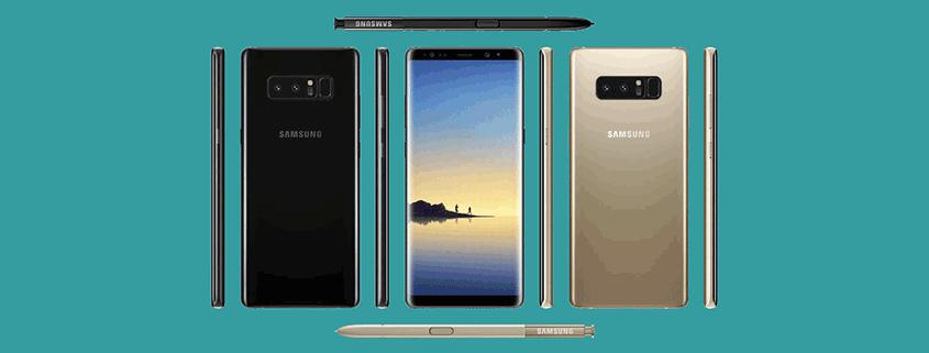 Samsung Galaxy Note 8 & GEars S3 + Flat für 26,99 €/mtl.
