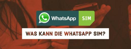 Whatsapp SIM im Check