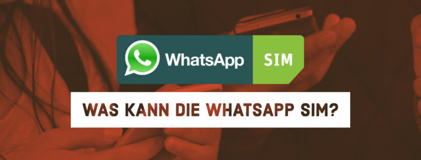Whatsapp SIM im Check