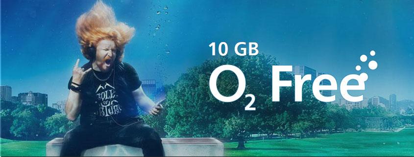 o2 Free M 10 GB