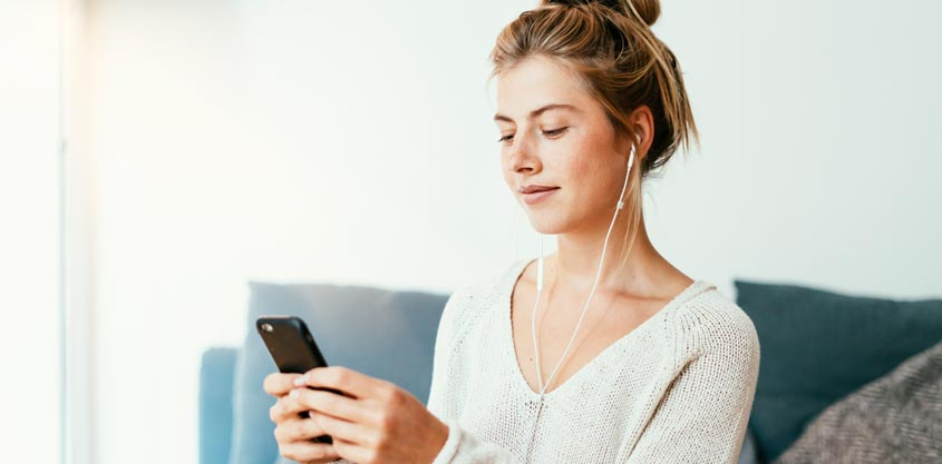 Meditieren mit Smartphone