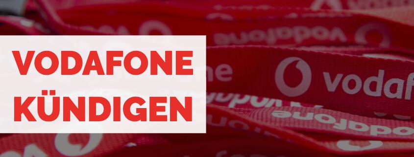 Vodafone kündigen