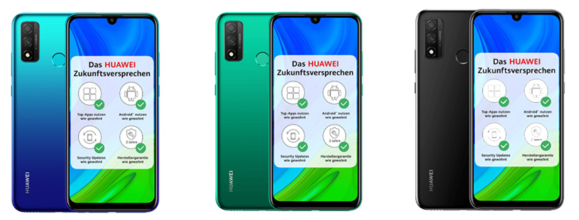 Huawei P Smart (2020) + 3 GB Vodafone LTE Flat nur 11,99 €